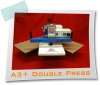 A3+ DOUBLE Pneumatic Heat Press